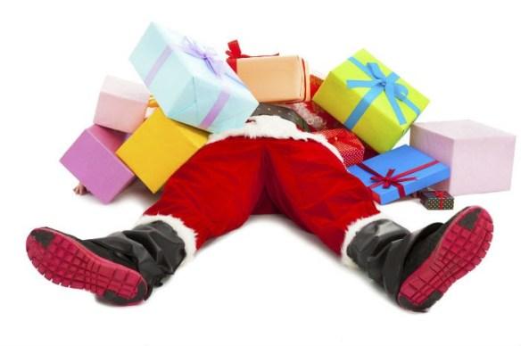 Santa-exhausted
